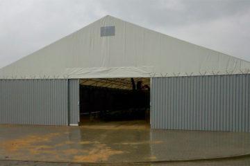 Namioty przemysłowe